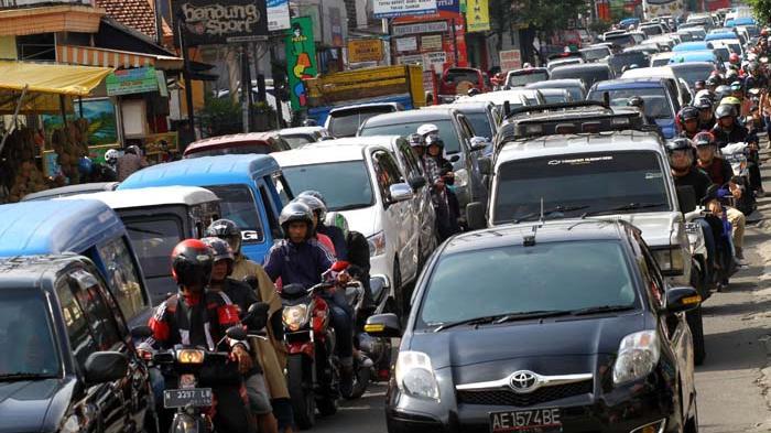 Kemacetan di kota Malang