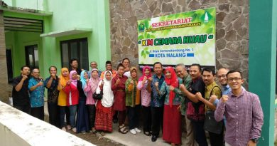 Penggiat KIM Kota Malang berkunjung ke KIM Cemara Hijau