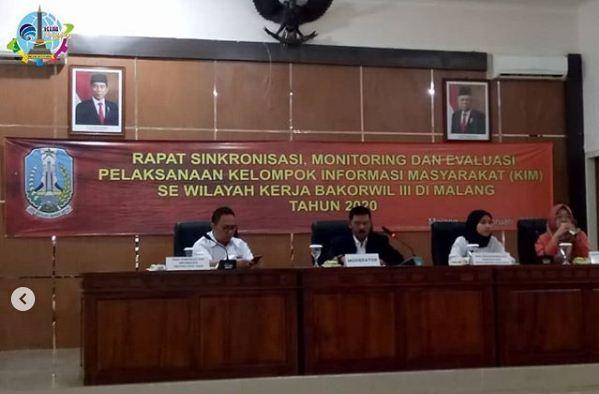 Bakorwil III Malang Gelar Pertemuan Guna Penguatan Peran KIM Dalam Diseminasi Informasi Pemerintah
