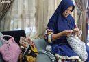 Kerajinan Rajut, Salah Satu Potensi Kelurahan Bareng