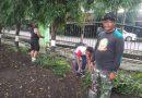 Kodim 0833 Kota Malang Lakukan Bersih Lingkungan Lapangan Rampal