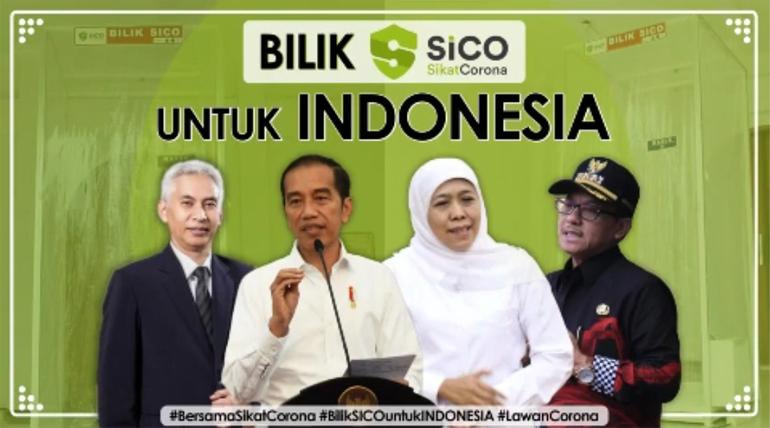 Bersama Sikat Corona – Bilik SICO Untuk Indonesia