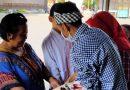 Pembagian Bantuan BPNTD Kepada Masyarakat Kelurahan Kasin