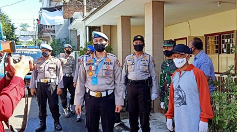 Mabes Polri Kunjungi Kampung Tangguh Mandiri Purwantoro