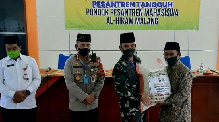 Pembentukan Posko Pesantren Tangguh Ponpes Al-Hikam