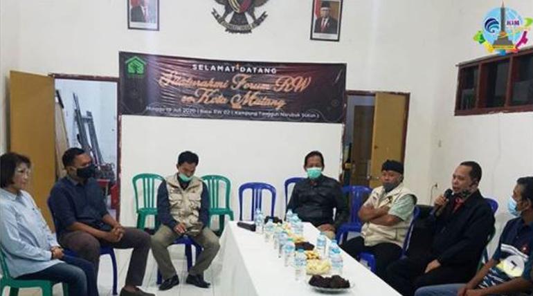 Silaturrahmi Forum RW se Kota Malang Memperkuat Jaringan Komunikasi dan Informasi