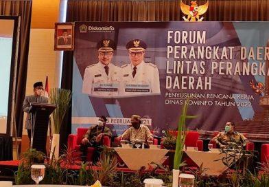 Forum Perangkat Daerah/Lintas Perangkat Daerah guna penyusunan rencana kerja Diskominfo tahun 2022