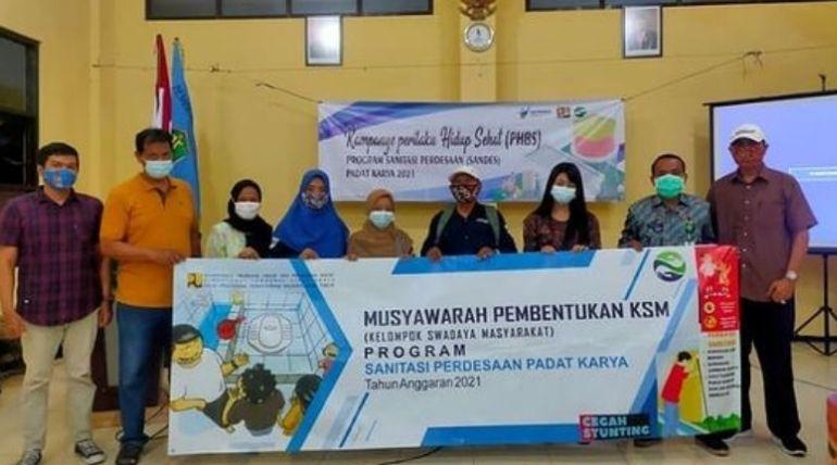 Sosialisasi Sanitasi Perdesaan Padat Karya Musyawarah Pembentukan KSM