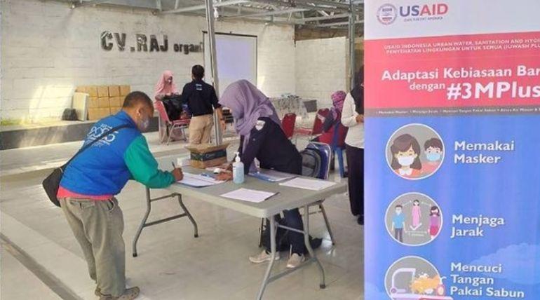 Sosialisasi Pra Pembangunan Sarana Sanitasi Aman Komunal di Wilayah RW.04 Kelurahan Sukun