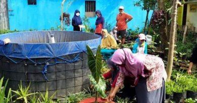 Semarak Warga Sukun Dalam Persiapan Lomba Urban Farming Kota Malang