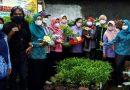 Penjurian Lomba Urban Farming di Taman UF Gladiol RW.2 Kelurahan Sukun