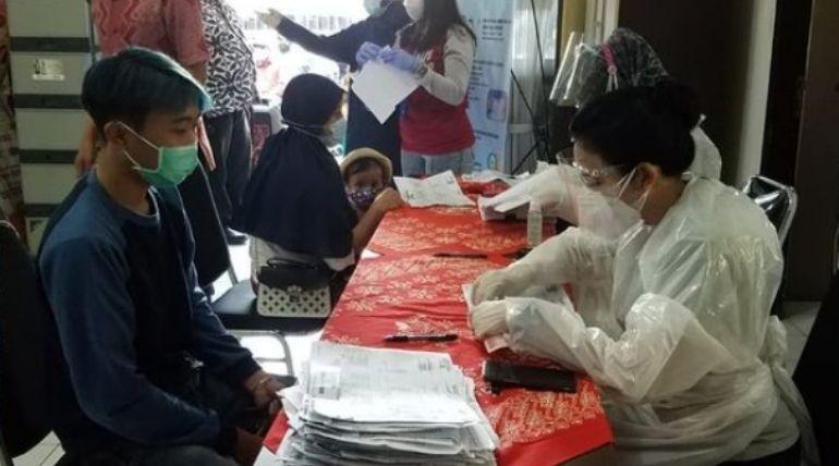 Pelaksanaan Pembagian Dana BST PPKM Tahun 2021 Bagi KPM Di Wilayah Kelurahan Sukun