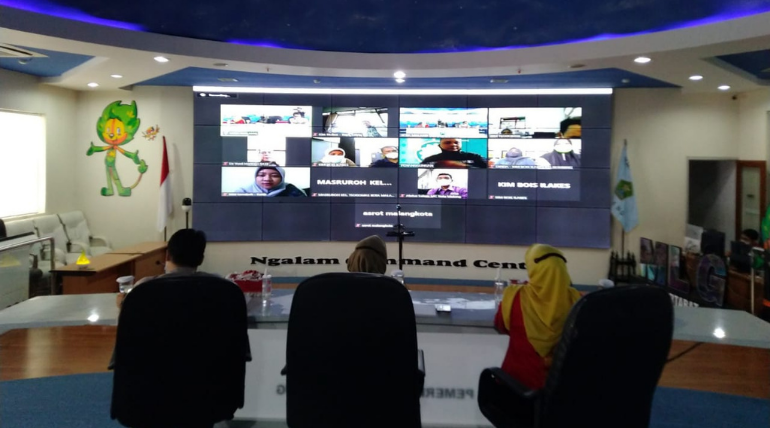 Rapat Virtual Juknis TOP 5 KIM Award 2021